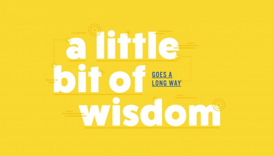 A Little Bit of Wisdom